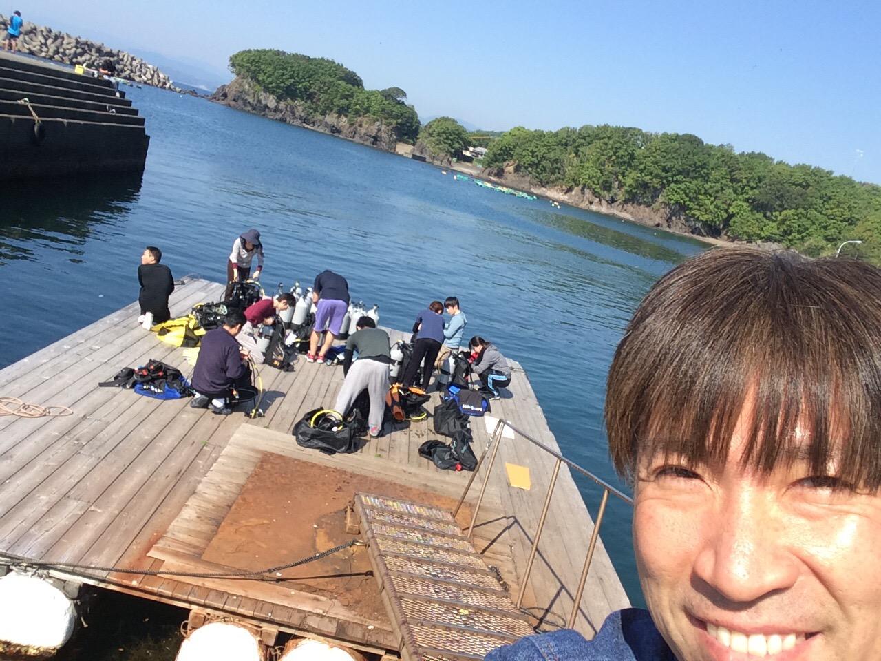 無人島ダイビング