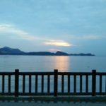 家島諸島からの素敵な夕陽\(^o^)/