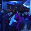 青い不思議な夜景スポット(泉大津SA)