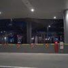 早朝の姫路駅寒いっす(ΦωΦ)