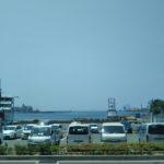 姫路港ターミナルに来た人なら誰もが見てるこの光景、海ってイイね!