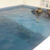 今時の高校生は放課後にプールでダイビング!
