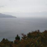 台風のそれた穏やかな越前海岸巻(*^^*)