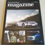 Mercedes-Benz magazine冬号着