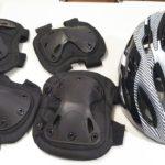 セグウェイ用にヘルメットと膝肘パット入荷ヽ(^o^)丿