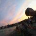 今から夜の海にスキューバダイビング!今日の海\(^o^)/